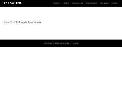 Zdrowitek.pl - zadbaj o zdrowie
