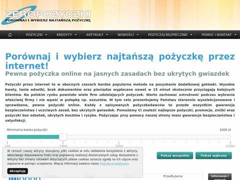Zeropozyczki.pl