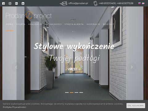 Prodanproject.com - cokoły z led
