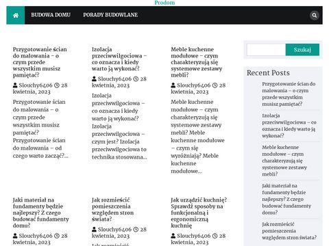 Prodom.net.pl domek drewniany