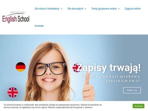 Professionalenglish.com.pl kurs