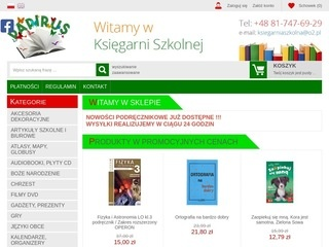 Papirus24.pl księgarnia szkolna