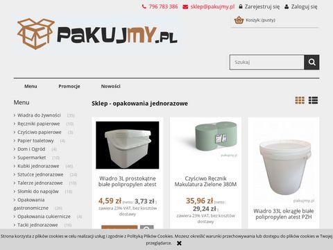 Pakujmy.pl - opakowanie jednorazowe