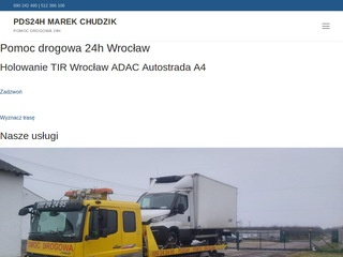 Pomocdrogowa24h.sos.pl Wrocław