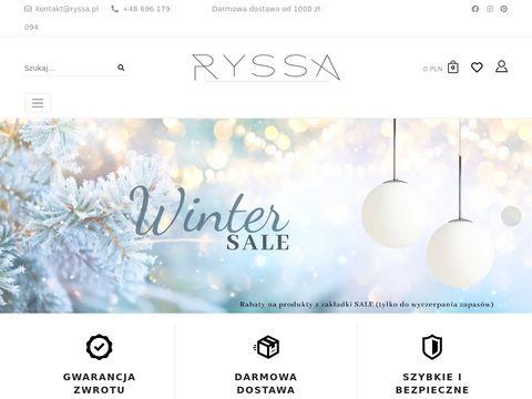 Ryssa.pl lampki do pokoju dla dzieci