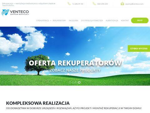 Rekuperacjawdomu.pl - wentylacja