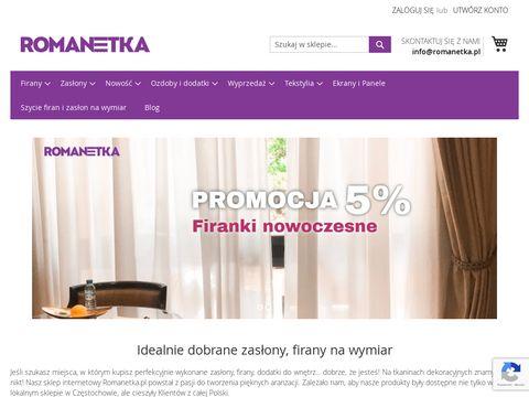 Romanetka.pl - gipiura do firan