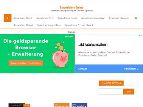 Sprawdzianyonline.pl