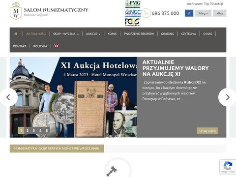 Snmw.pl salon numizmatyczny