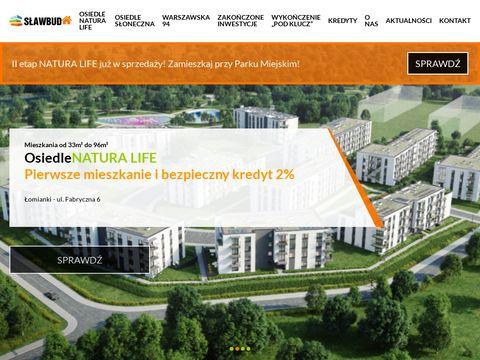 Sławbud - inwestycje mieszkaniowe