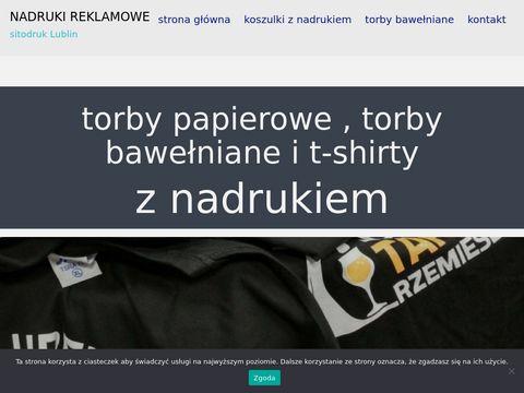 Sitodruk.lublin.pl nadruki reklamowe