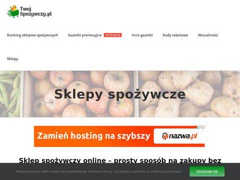 Twojspozywczy.pl zakupy z dostawą