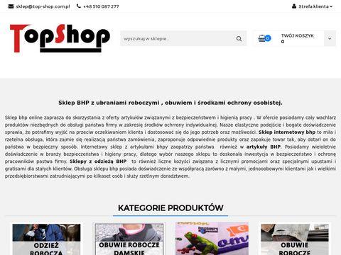 Top-shop.com.pl sklep BHP