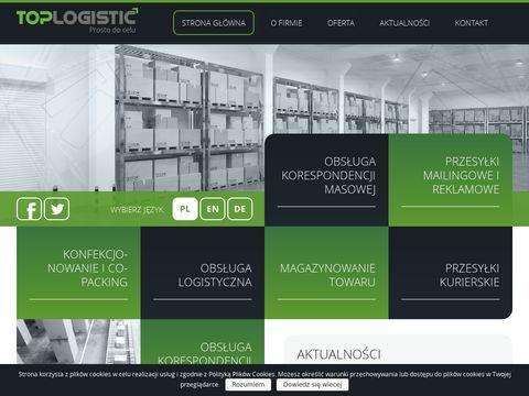 Toplogistic.pl przesyłki reklamowe