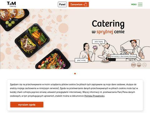 Timcatering.pl dieta pudełkowa Wrocław
