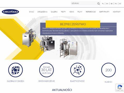 Urlinski.com.pl przemysł kosmetyczny
