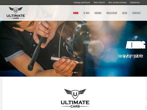 Ultimatecars.pl usuwanie rys z lakieru