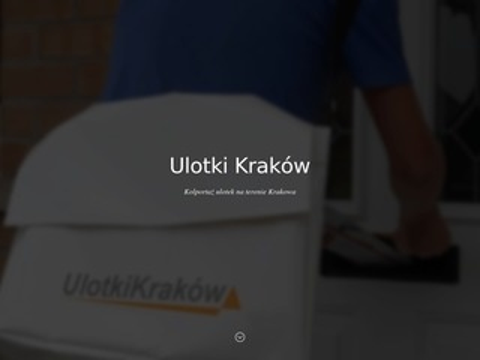 Ulotkikrakow.com - dystrybucja ulotek