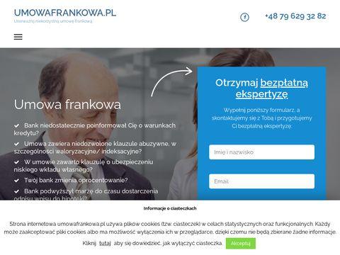 Umowafrankowa.pl jak anulować kredyt