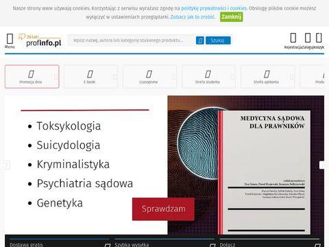Profinfo.pl - ebooki prawnicze