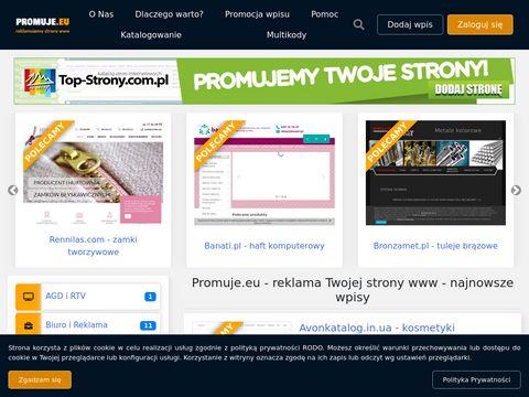 Promuje.eu reklama strony www
