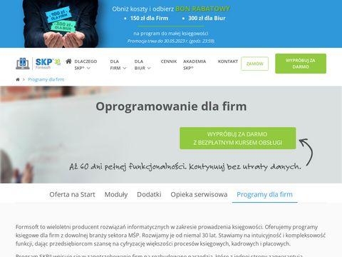 Samozatrudnienie.pl rozliczanie firmy