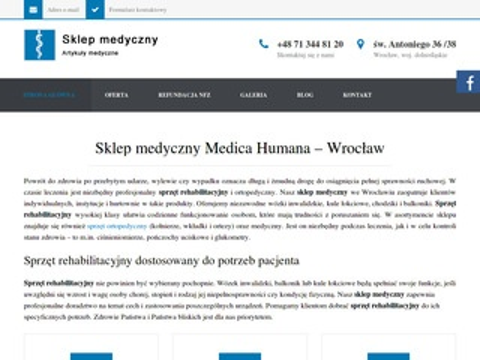 Sklepmedycznywroclaw.pl