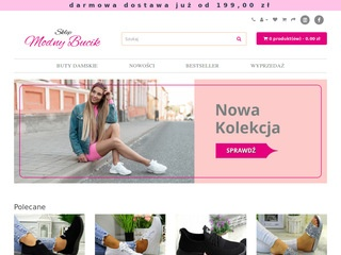Buty damskie - sklep-modnybucik.pl