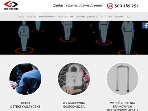 Spegro - detektyw w Gdańsku