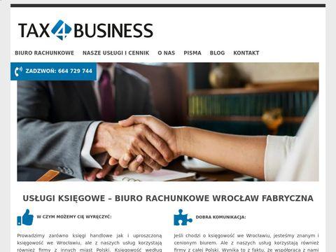 Tax4business.pl - biuro rachunkowe