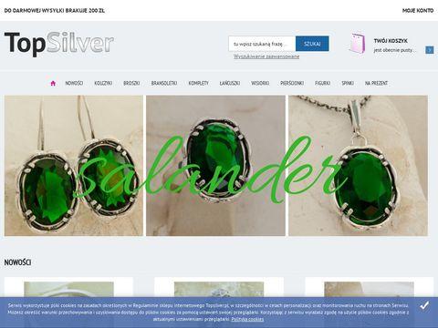 TopSilver - biżuteria srebrna sklep