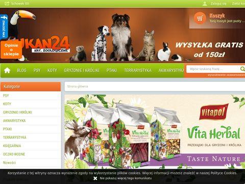 Tukan24 - sklep zoologiczny