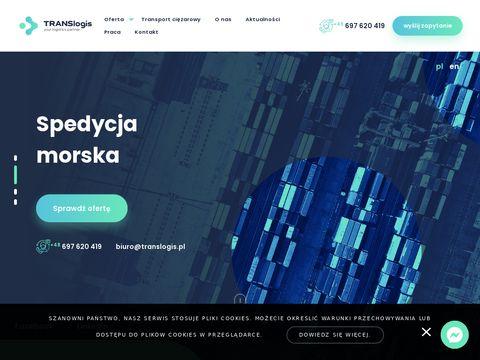 Translogis.pl - usługi spedycyjne
