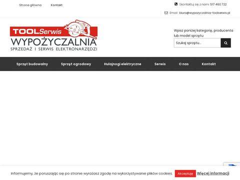 Wypozyczalnia-toolserwis.pl serwis