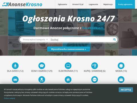 Anonse-krosno.pl darmowe ogłoszenia