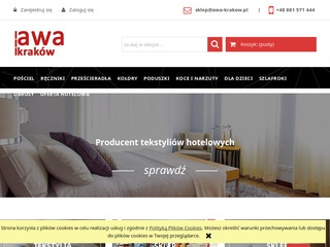 AWA Kraków - producent tekstyliów