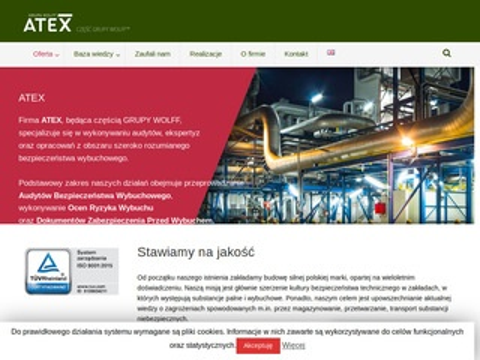 Atex137.pl bezpieczeństwo pożarowe