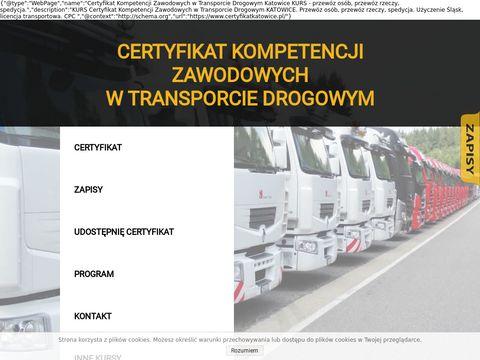 Certyfikatkatowice.pl