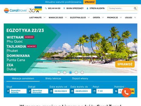 Coral Travel biuro podroży
