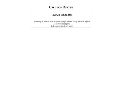 Cvz.com.pl zegarki Carl von Zeyten