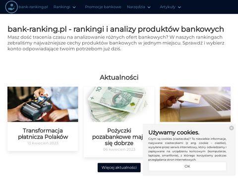Bank-ranking.pl kont osobistych
