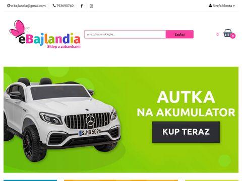 Ebajlandia.pl sklep z zabawkami