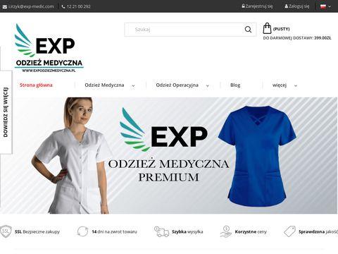 Expodziezmedyczna.pl fartuchy