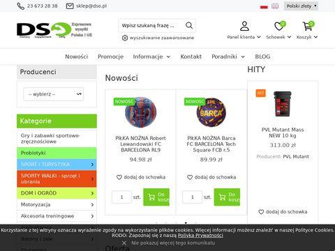 Dso.pl sklep z odżywkami