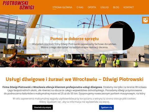 Dzwigi-piotrowski.pl