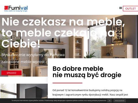 Furnival.pl - komody do salonu