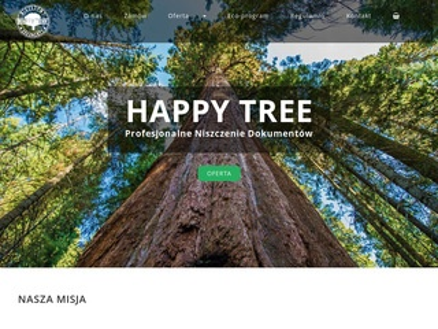 Happytree.com.pl niszczenie dokumentów