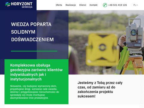 Horyzontgeodezja.pl geodeta Olsztyn
