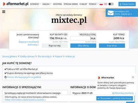 Mixtec.pl - blender gastronomiczny