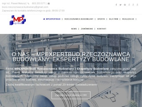 Ekspertyzy budowlane - Mpexpertbud
